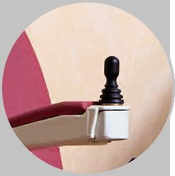 Практичен джойстик за лесна и интуитивна употреба