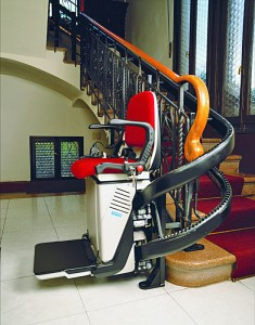 Седалков стълбищен асансьор V53